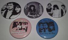5 Alley Cats badges 25mm punk rock LA punks 1980's Descendents Alleycats Glam