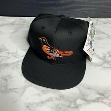 NWT MLB Baltimore Orioles Black and Orange Youth Junior Hat Cap