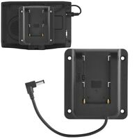 Battery Camera Adapter Plate for Sony NP-F970 F770 F970 F960 F750 VESA Monitors