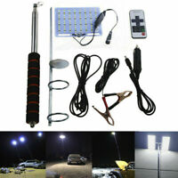 Telescopic COB Rod LED Fishing Outdoor Camping Lantern Light Lamp Hiking BBQ CA
