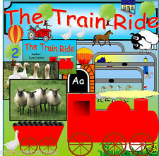 THE TRAIN RIDE Story teaching resources 4 sack EYFS Journeys TRANSPORT  resource