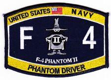 US NAVY F-4 Phantom II Military Patch PHANTOM DRIVER SPOOK RATING