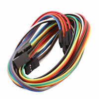 5 Pcs Female to Female 3P Jumper Wires Ribbon Cables Pi Pic Breadboard DIY 50cm