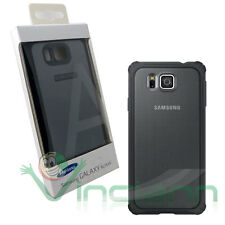 Custodia rigida COVER PLUS NERA originale Samsung per Galaxy Alpha G850F black
