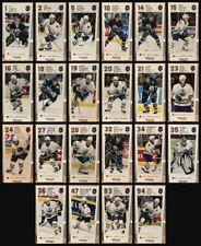 Edmonton Oilers 2003-2004 West Edmonton Mall WEM Team Issue Postcard Set of 22