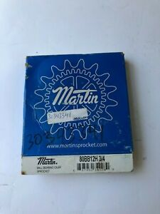 MARTIN 80BB12H 3/4 BALL BEARING IDLER SPROCKET NEW IN FACTORY BOX