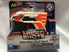 NERF Micro Shots ROUGH CUT 2x4 Series 2 Elite Darts N-Strike Hasbro BRAND NEW!