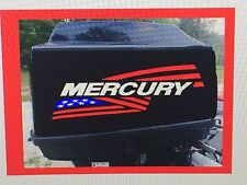 2 - Mercury flag Outboard decals marine vinyl  15 inch