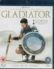 Gladiator 2 Disc Special Edition Blu-Ray Russell Crowe 2009