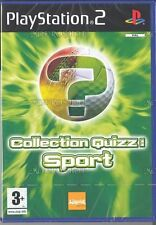 Collection quizz sport - JEU PS2 - NEUF