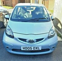 Toyota Aygo 1Ltr Sport 05 Plate 93.000 Miles Lady Owner