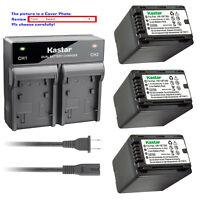 Kastar Battery AC Rapid Charger for Panasonic VW-VBT380 VBT380 VW-VBT190 VBT190