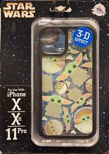 New Disney Star Wars Baby Yoda The Child Phone Case iPhone X Xs 11 Pro Black