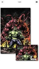 Absolute Carnage Immortal Hulk #1 Mico Suayan virgin Variant Limit 500 Sold Out