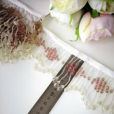 Beautiful Beaded Trim For Lampshade Shabby Chic  colour 90 mm width