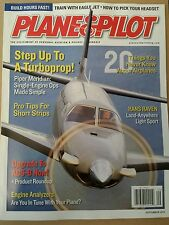 Plane & Pilot Turboprop Pro Tips for Short Strips ADS-B Sept 2014 FREE SHIPPING