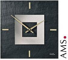AMS 47 cuarzo de Reloj Pared Pizarra naturschieferuhr para salón schieferuhr 549