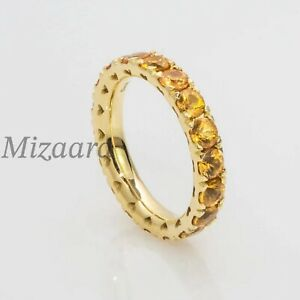 CITRINE 925 STERLING SILVER WOMENS SIGNET MODERN PURPOSAL ENGAGEMENT RING YP049