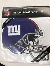 "2 New York Giants 12"" Vinyl Magnets Car Fridge Boat Van Cabinet"