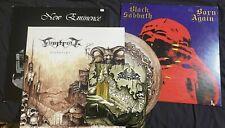 Lot Of 3 Heavy Metal LP Records Finntroll Black Sabbath