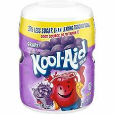 New listing Kool-Aid Grape Flavored Powdered Drink Mix (19 oz 1.18 Pound (Pack of 12)