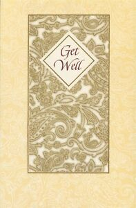 American Greetings Get Well Card: Many Special Thoughts for Your Healing