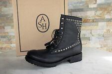 ash 41 Stiefel Schnürstiefel Boots Schuhe Vintage Ralph schwarz neu ehemUVP 299€