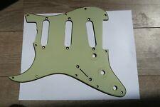 Left 1964 Fender Stratocaster Nitrate Celluloid Mint Green Pickguard  Vintage 60