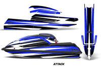 Jet Ski Graphics Kit Decal PWC Wrap For Kawasaki JS 750 SX 1992-1998 ATTACK BLUE