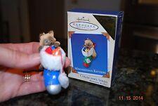 Rare 2003 Hallmark Mischievous Kitten Colorway Register to Win keepsake Ornament