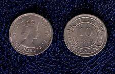 BELIZE 10 CENT 1974 CU FDC british honduras mrm