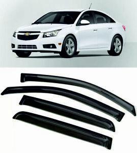 For Chevrolet Cruze 2008-2014 Window Visors Sun Rain Guard Vent Deflectors