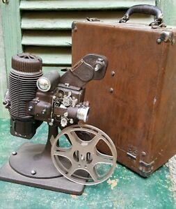 ANTIQUE BELL HOWELL FILMO MASTER 16 mm PROJECTOR PROIETTORE RARO CONDIZIONI ++
