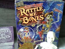 Rattle Me Bones Electronic Game. PIRATE Skeleton. Buck A Roo style  skill game