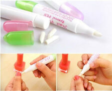 Ladies Manicure Nail Art Polish Corrector Remover Erase Cean Pen with 3 Tips AC