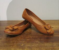 Report Brown Bow Round Toe Slip On Flats - 4