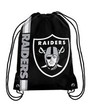 Oakland Raiders Drawstring Bag NFL Football Official Licensed Gym Tote Backpack
