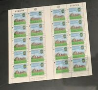 Isle of Man 1982 MNH Europa Issues Six Full Panes CV $70