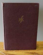"1938 ""Helen Keller's Journal"" Written by Helen Keller stated 1st Edition"