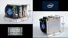 Intel Socket LGA3647 Passive Active Heat-Sink Fan for Xeon Scalable Processor
