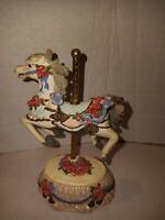Yesterday Heritage House Carousel Horse Melodies County Fair Collection