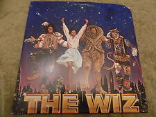 THE WIZ O.S.T. 2 x LP Michael Jackson. Diana Ross, Quincy Jones w/ poster