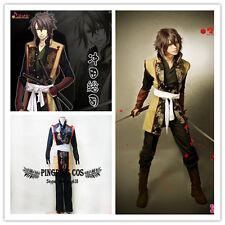 Hakuouki Cosplay Costumes Samurai Okita Souji おきた そうじ Suit * Custom-made