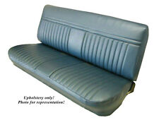 1981-87 Chevy Truck Standard Cab Upholstery, Front Bench Seat, 8 color choices