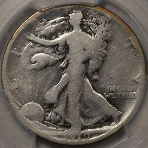 1919-D Walking Liberty Half Dollar PCGS G-4 - Clean Surfaces!