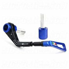 TWM BRAKE LEVER GUARD KIT for BMW S1000RR 2015 2016 2017 - MADE IN ITALY - BLUE