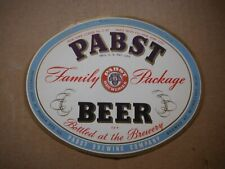 New listing Pabst Blue Ribbon Ny License Irtp 32 Oz. Beer Label~Pabst,Milwaukee,Wis #10