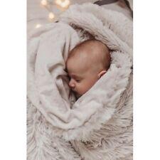 Bizzi Growin Koochicoo Grey fluffy baby blanket Shawl