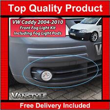 VW Caddy et Maxi 2004-2010 Pré Lifting Complet Feu De Brouillard Avant Kit Lampes Lumières