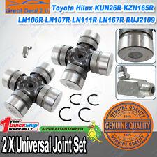Pair Uni Joints Hilux LN106R 107R DYNA 150 KUN26R KZN165R 111R 167R 172R